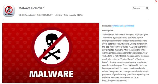 Qnap Antivirus Not updating