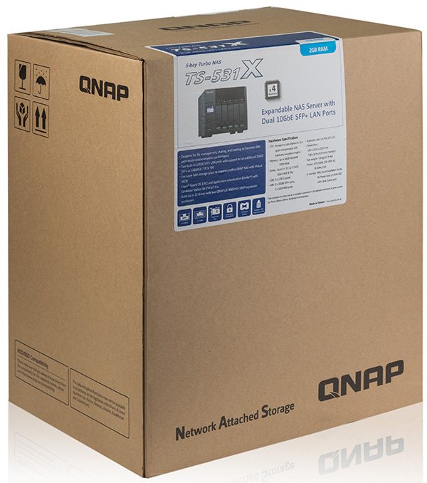 Powerful five bays NAS QNAP TS-531X